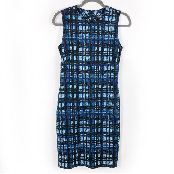 SOLD-NEW J McLaughlin Devon Dress Sleeveless Plaid